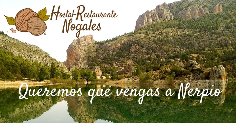 Estrenamos página web en el Hostal-Restaurante Nogales de Nerpio Albacete