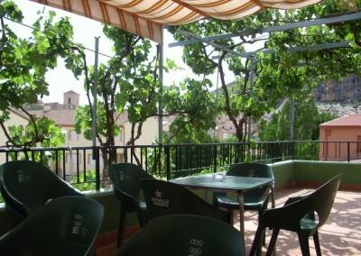 Terraza Hostal-Restaurante Nogales Nerpio