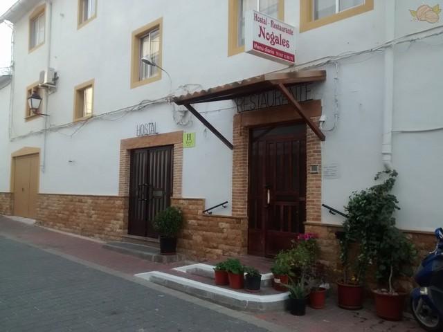 Fachada Hostal-Restaurante Nogales Nerpio